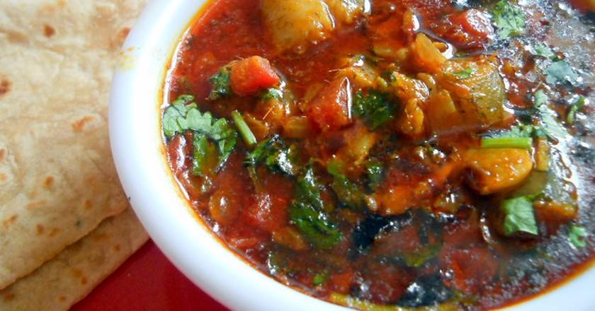 Bombay Duck Curry | © Maria Gonsalves, flavorsofmumbai.com