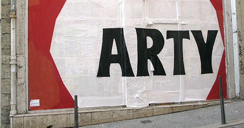 Arty by Les Frères Ripoulain |© biphop/Flickr