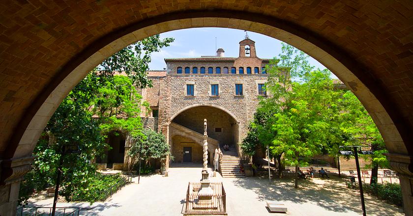 Library of Catalonia © David Meenagh / Flickr