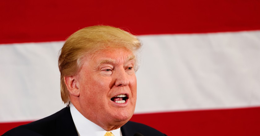 Donald Trump Sr. at #FITN in Nashua, NH   ©Michael Vadon/flickr