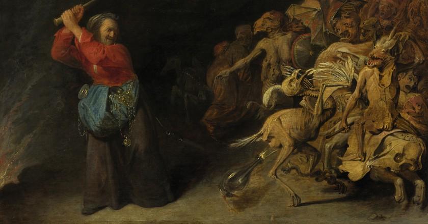 'Dulle Griet' by David Rijckaert III   © Kunsthistorisches Museum, Vienna