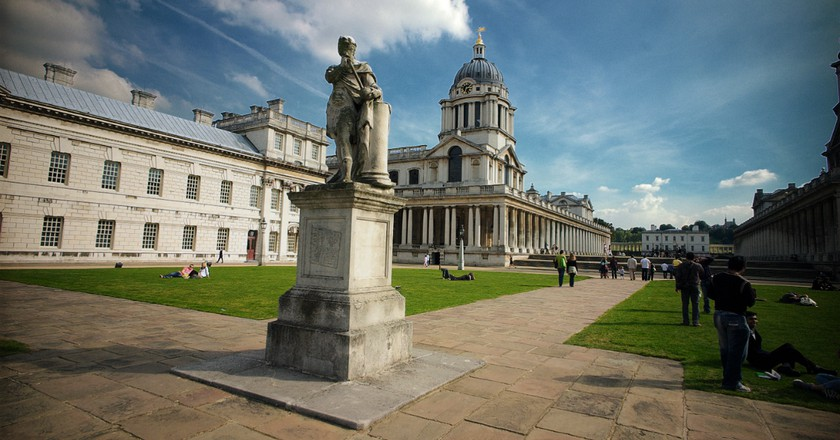 Old Royal Naval College, Greenwich | Bill Hunt/Flickr