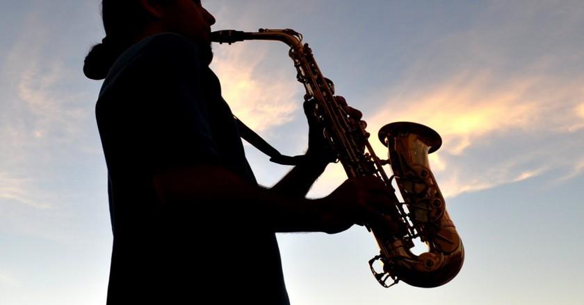 Saxophonist | ©Diego Lazo/ Flickr