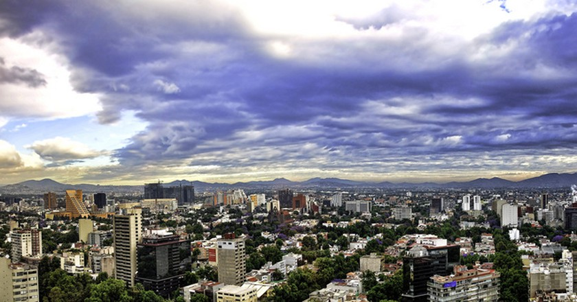 Mexico City Panorama| © Francisco Diez/Flickr