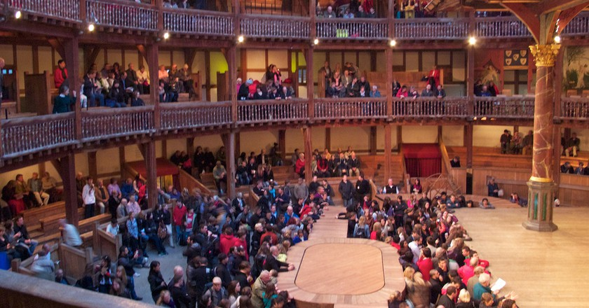 Globe Theatre Galleries ©Andrea Vail