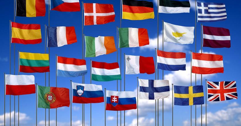 EU Flags | © Olga Lednichenko/Flickr