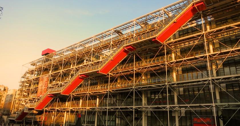 Le Centre Pompidou | © Matthias Mueller/Flickr