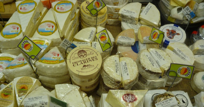 Cheese © Rebecca Siegal/Flickr