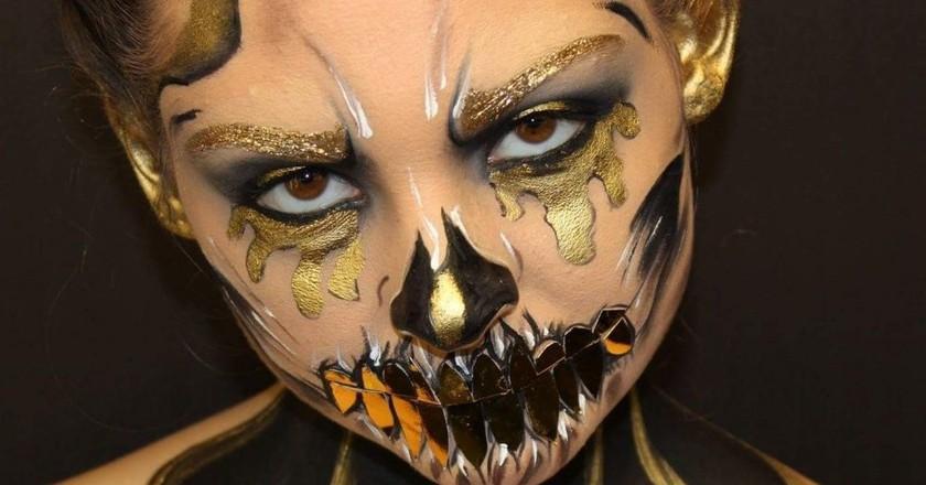 Golden Skull | © Ela Ran