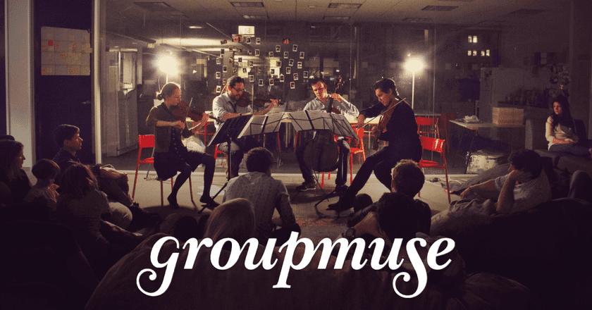 Groupmuse at Work © Courtesy of Groupmuse
