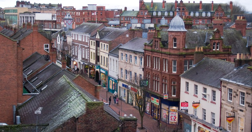 Charming view of Scotch Street | © morebyless/WikiCommons
