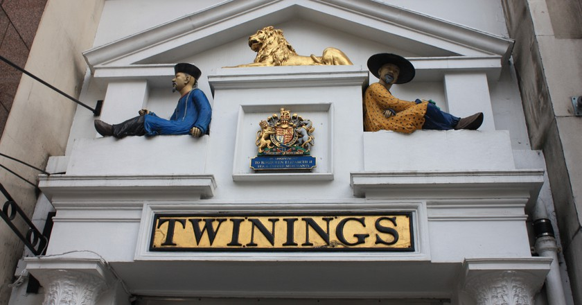 The Twinings doorway, designed by Richard Twining © Stephencdickson/WikiCommons