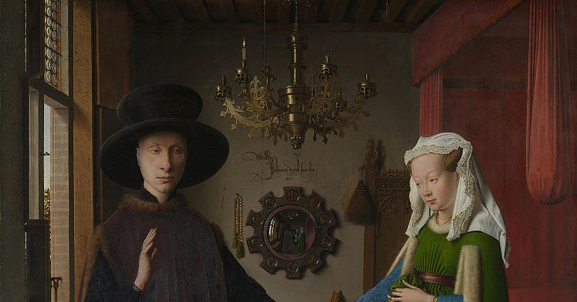 The Meaning Of Jan Van Eyck's The Arnolfini Portrait