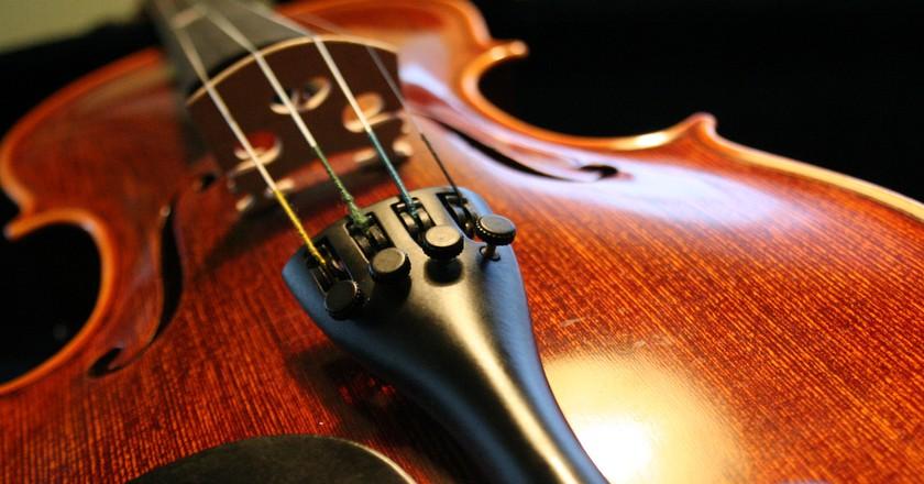 Violin | © Robin Zebrowski/Flickr