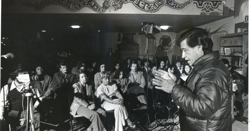 Cesar Chavez lecturing | © Movimiento/WikiCommons