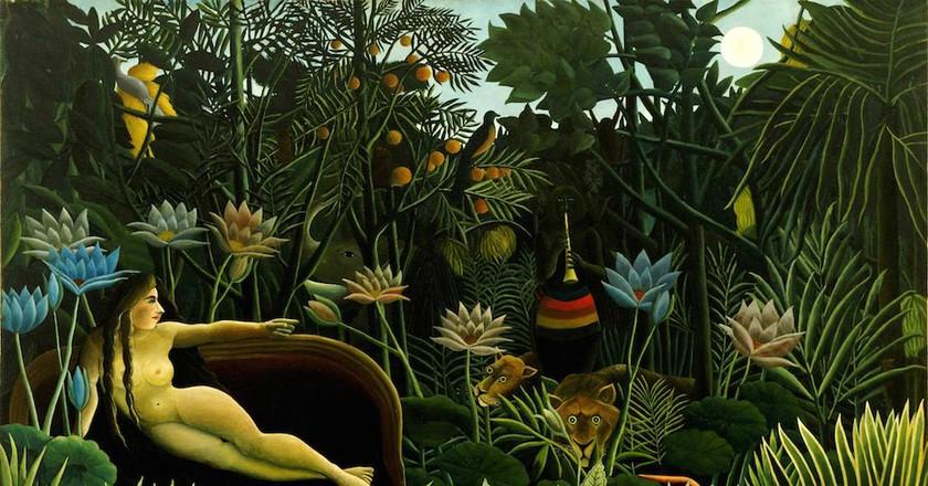 Henri Rousseau, The Dream/Wikicommons