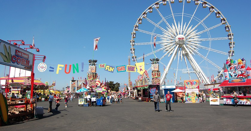 LA County Fair at the Fairplex © wikicommons