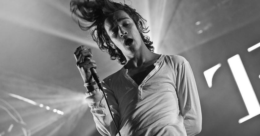 Matthew Healy at Southside Festival © Wikicommons