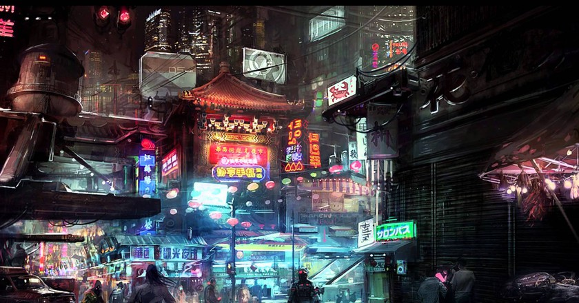 © Ambient Cyberpunk Music/Youtube