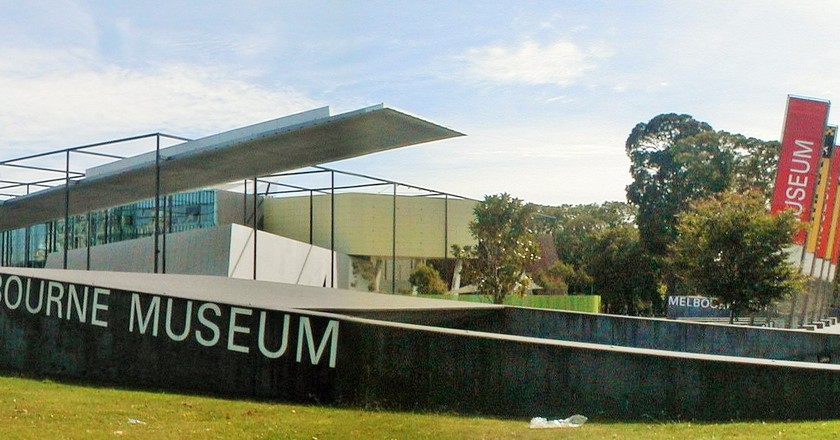 Melbourne Museum from Nicholson Street | © User:Tirin/WikiCommons