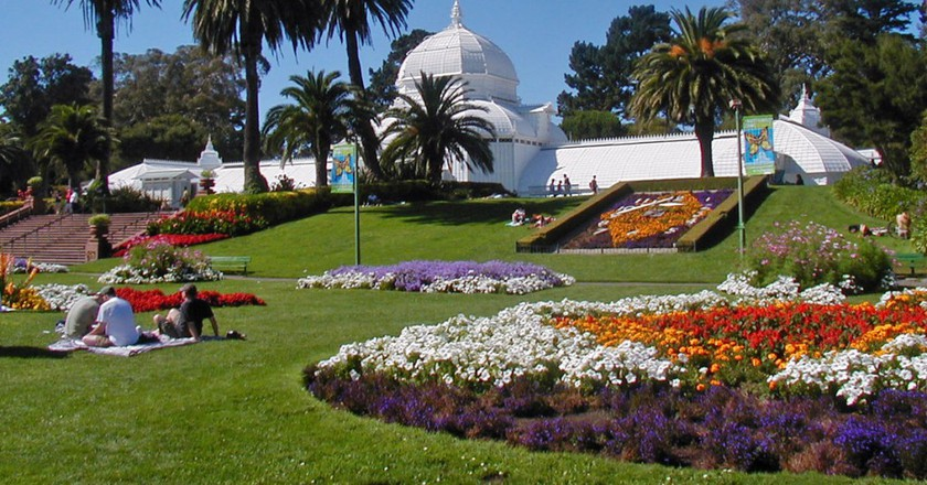 Conservatory of Flowers in Golden Gate Park | © WolfmanSF/Wikipedia
