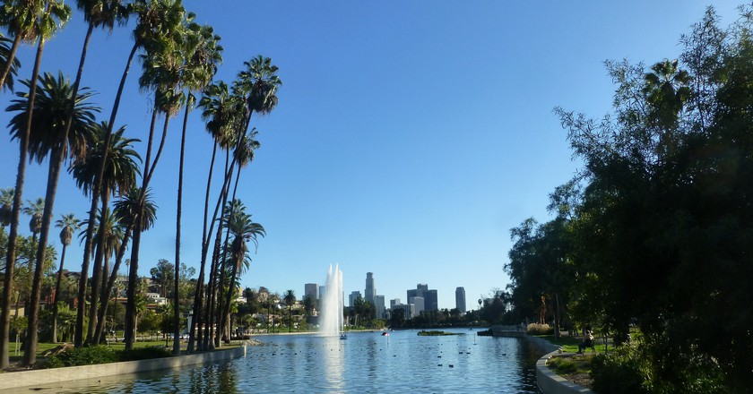 Echo Park Lake |  Mike Linksvayer/Flickr