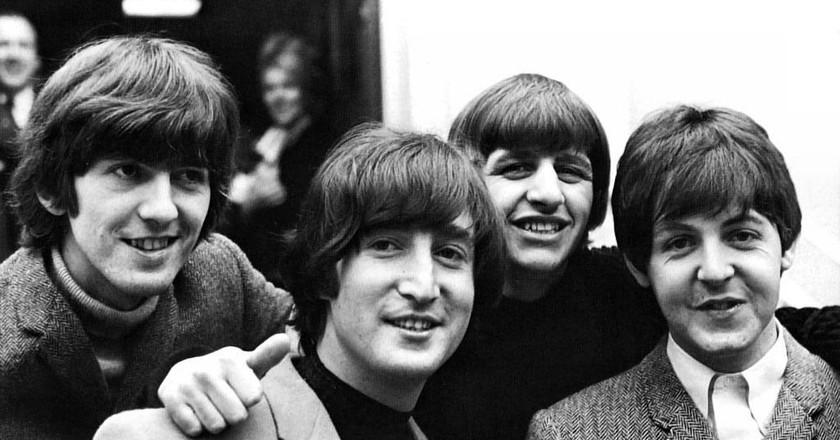 The Beatles, from left to right: George Harrison, John Lennon, Ringo Starr, Paul McCartney | Courtesy of Roger - Flickr