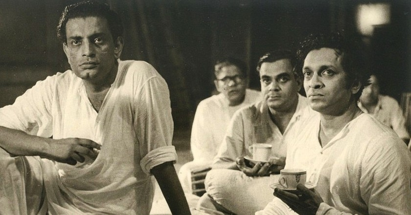 Satyajit Ray with Ravi Shankar |  © Unknown/WikiCommons