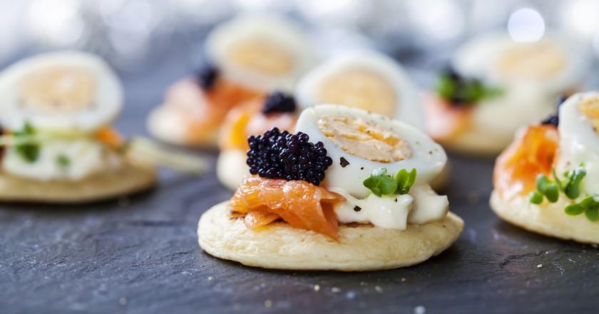 Bite-sized canapés | © Magdanatka/Shutterstock
