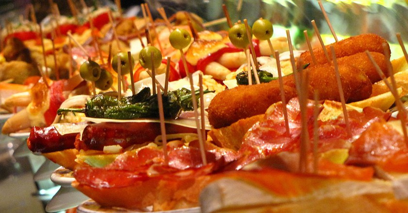 A Brief History Of The World Famous Spanish Tapas