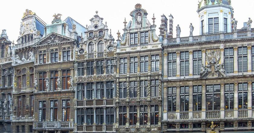 Brussels City Centre Belgium during winter|© William Murphy/Flickr