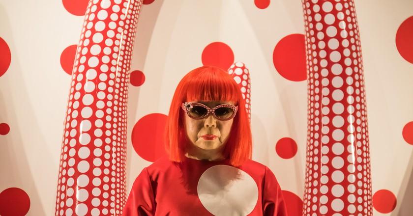 The artist Yayoi Kusama | © Susanne Nilsson/Flickr
