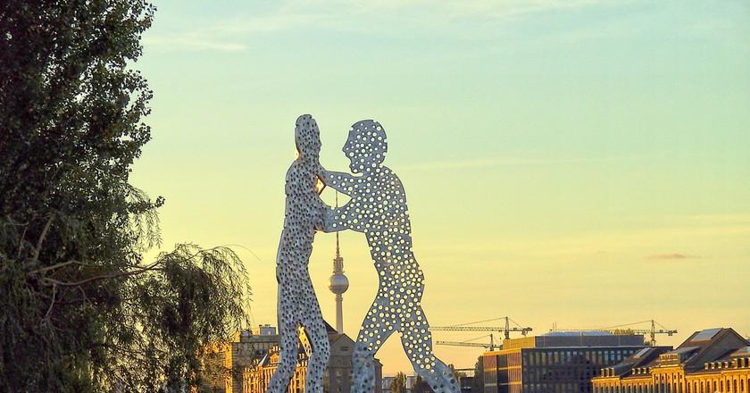 The Molecule Men at Berlin Treptow | © ANBerlin / Flickr