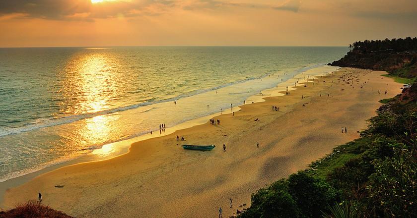 Sunset at Varkala Beach | © Thejas Panarkandy/Flickr