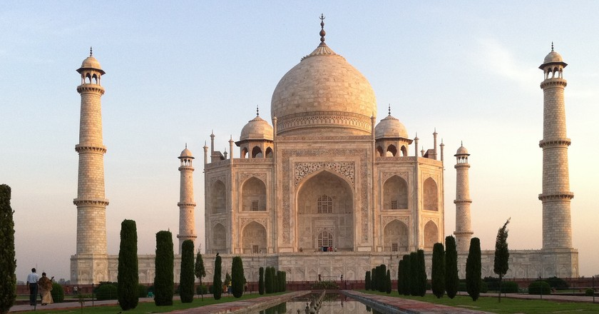 The Taj Mahal   ©Kinnla, Flickr