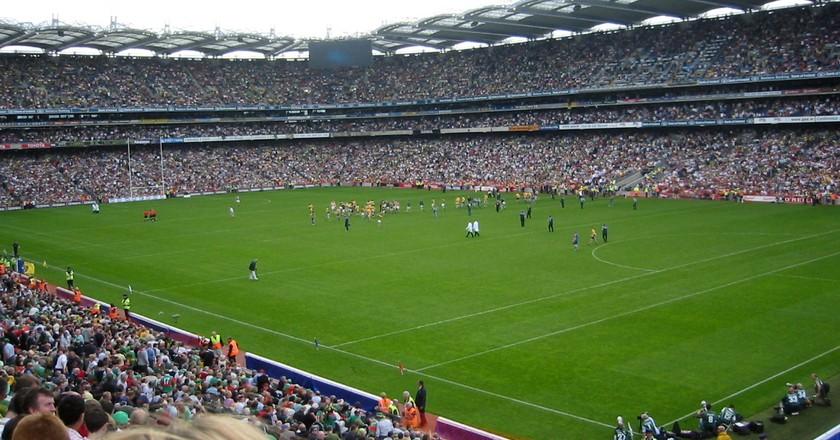 Croke Park All Ireland   © Tolivero / Wikicommons