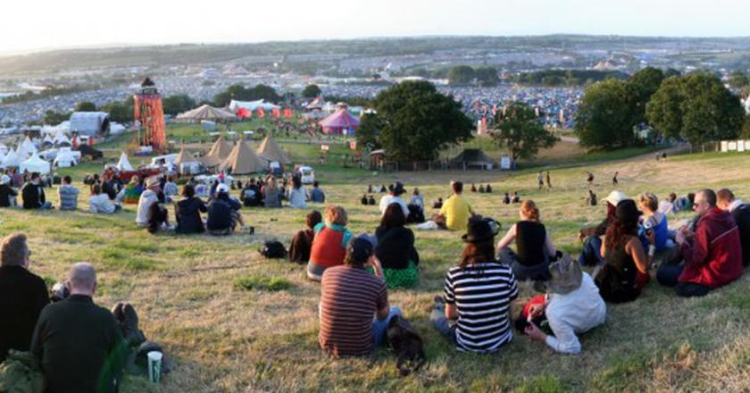 Glastonbury 2009 | © Leahtwosaints / WikiCommons
