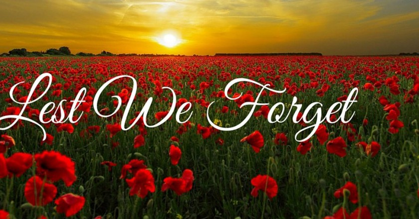 Lest We Forget | © diego_torres / Pixabay
