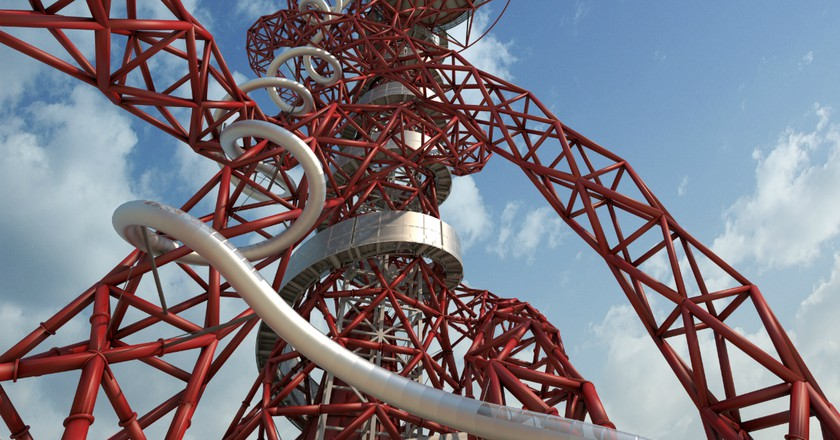 ArcellorMittal Orbit Slide | Courtesy of LLDC