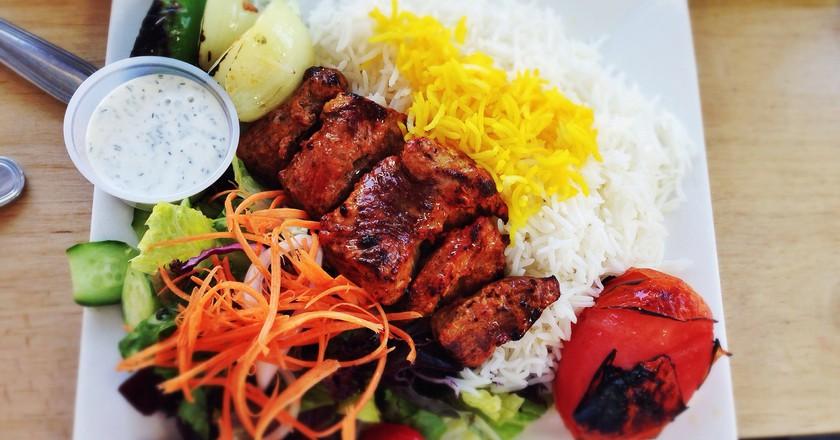 Lamb Kabob at Taste of Tehran