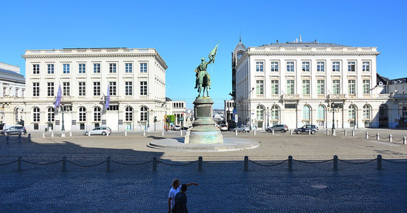 La place royale et sa statue de Godefroid de Bouillon | Stephane Mignon/Flickr