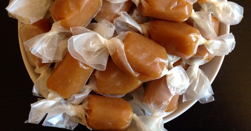 Jacques Genin's Mango Passion Caramels © Joy/flickr