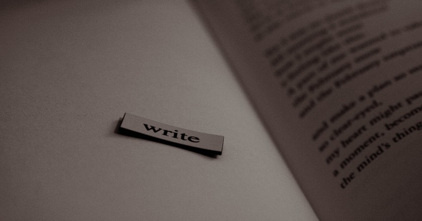 Write   © Sarah Reid / Flickr