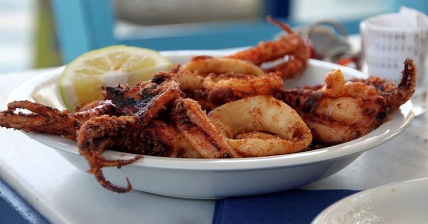 Fried calamari   © Klearchos Kapoutsis/Flickr