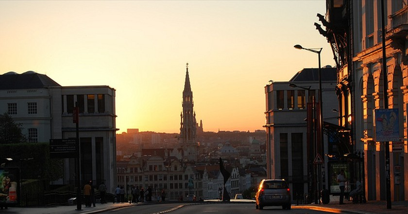 Brussels Sunset | Delwin Steven Campbell/Flickr
