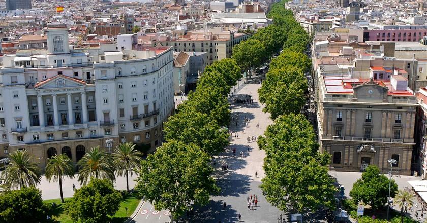 The History Of La Rambla Of Barcelona In 1 Minute
