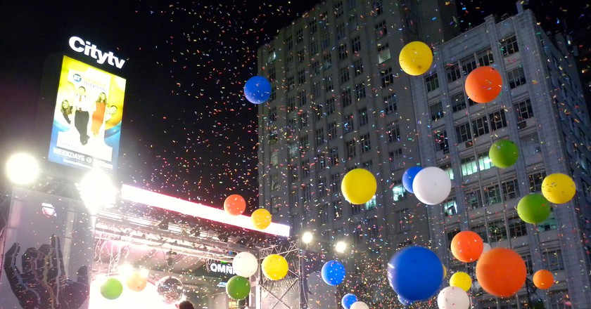 Flaming Lips at Yonge-Dundas Square | © JasonParis/Flickr