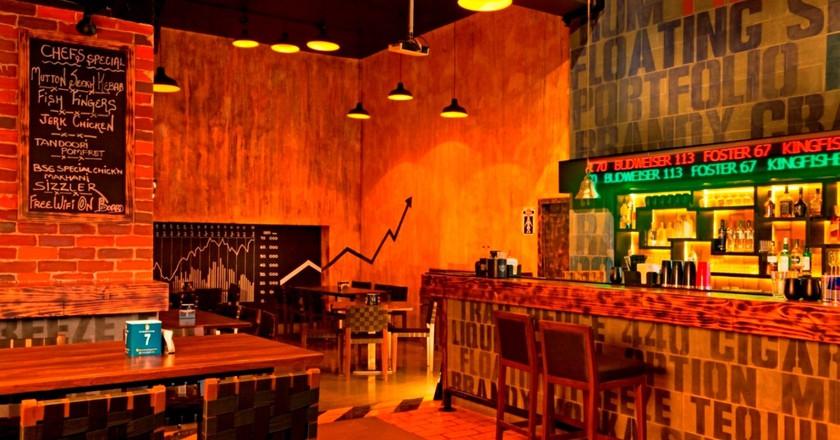 The Bar Stock Exchange  Courtesy of Zomato