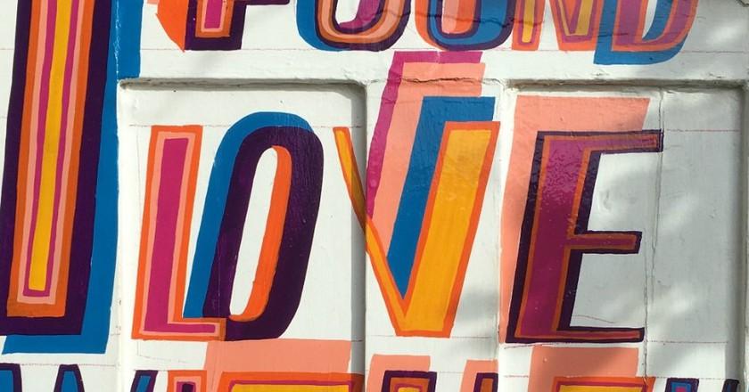 'I Found Love' 2016 | © Bob and Roberta Smith