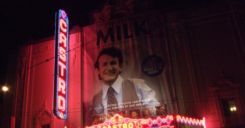 Harvey Milk at the Castro Theater © Andrew Mager/Flickr